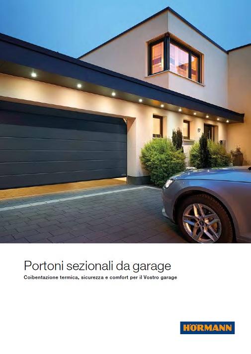 Portoni A Due Ante Per Garage Usato.Hormann Portoni Sezionali Moderni Portoni Sezionali Leader Del
